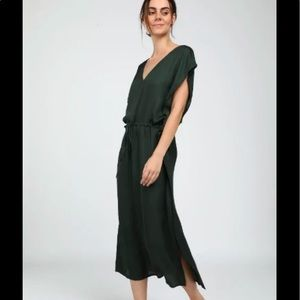 NWT spring Neu Nomad oliv green Caftan capri dress